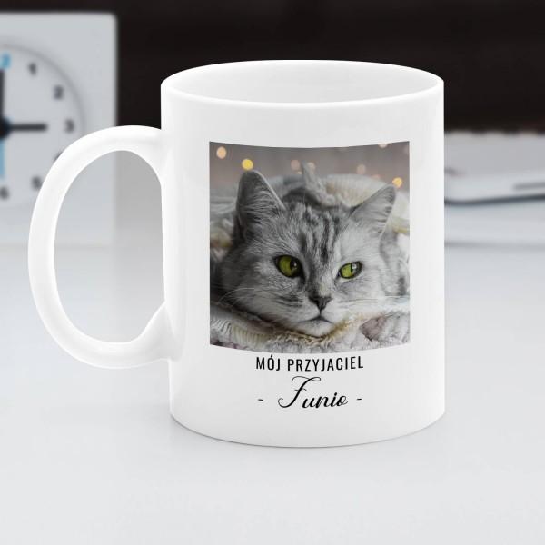 kubek ze zdjęciem kota