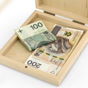 pudełko na pieniądze na komunię