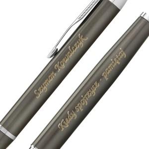 długopis i pióro z grawerem na prezent dla mężczyzny