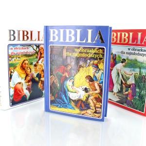 personalizowana biblia na chrzciny