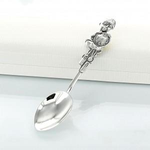 srebrna łyżeczka dla chłopca
