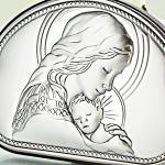 srebrne pamiątki chrztu