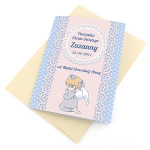 kartki na chrzciny z personalizacją
