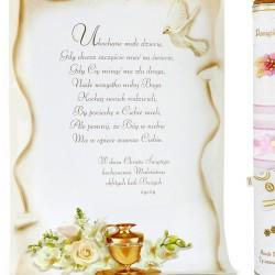 tuba dekoracyjna z życzeniami
