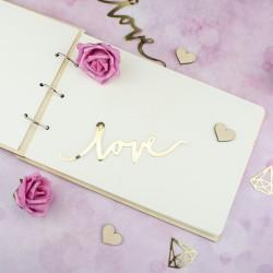 album z personalizacją na prezent na ślub