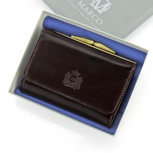 grawerowany portfel damski