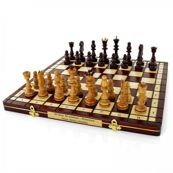szachy na prezent urodzinowy