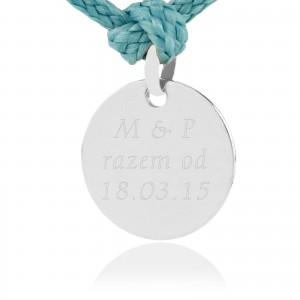 charms srebrny z grawerem na prezent