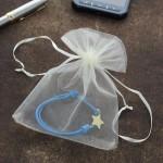bransoletka sznurkowa z gwiazdką na prezent