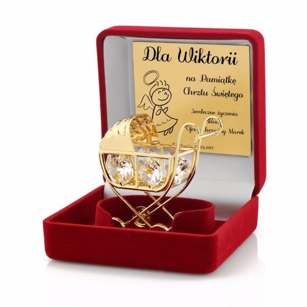 Wózek Swarovski prezent dla dziecka