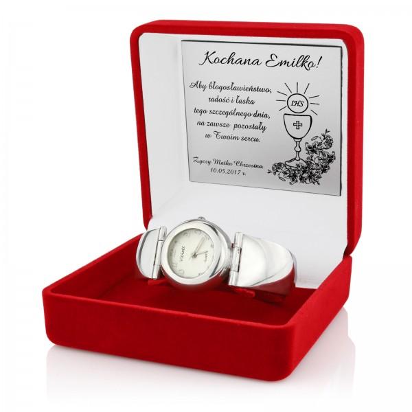 damski zegarek Violett z grawerem