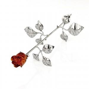 wieczna róża na prezent na chrzest święty dziecka