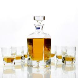karafka z grawerem + 6 szklanek