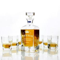 personalizowany komplet do whisky