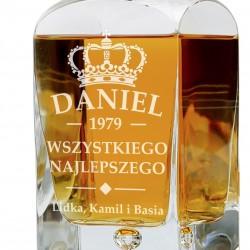 karafka do whisky z grawerem na prezent dla niego
