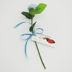 róża na prezent skarpetka dla dziecka