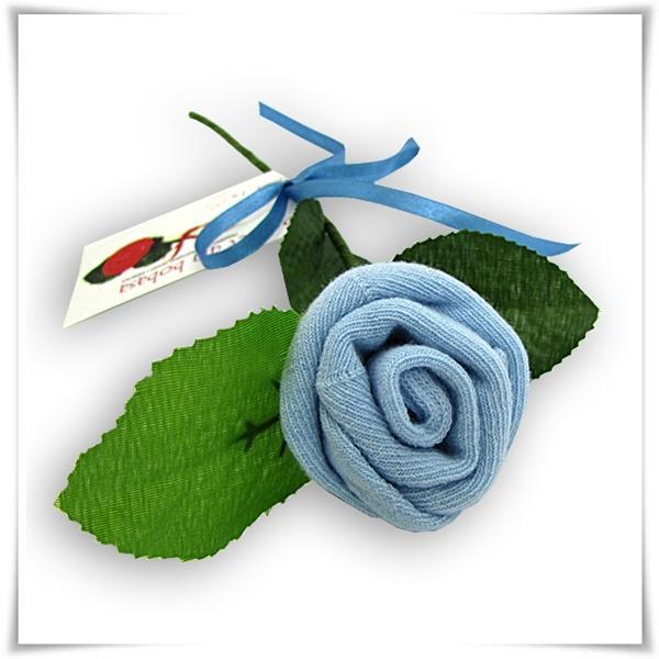 niebieska róża dla chłopca