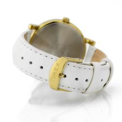 zegarek Timex na białym pasku