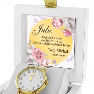 zegarek z dedykacją na prezent dla niej