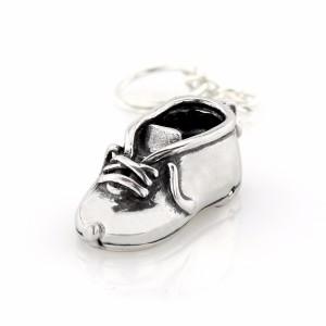 Buciki srebrny pamiątka chrztu