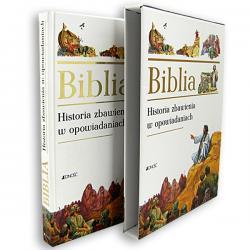 biblia z dedykacją na chrzciny