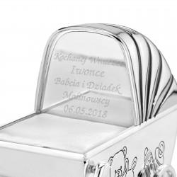 skarbonka wózek na prezent dla dziecka