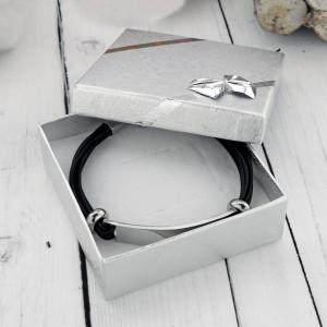 bransoletka męska w opakowaniu prezentowym