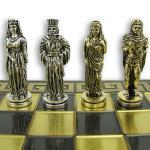 Mosiężne figury szachowe