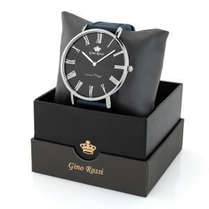 zegarek gino rossi ze skórzanym paskiem