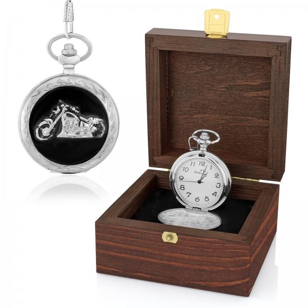zegarek kieszonkowy w pudełku na prezent dla dziadka