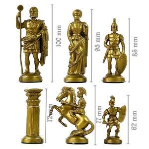 ekskluzywne szachy rzymskie na prezent