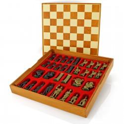 grawerowane szachy rzymskie z dowolną dedykacją