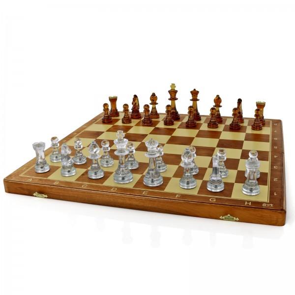 szachy bursztynowe z dowolnym grawerem