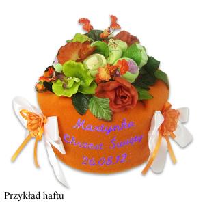 Tort z pampersów prezent z okazji chrztu