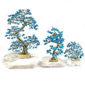 turkusowe drzewko szczęścia