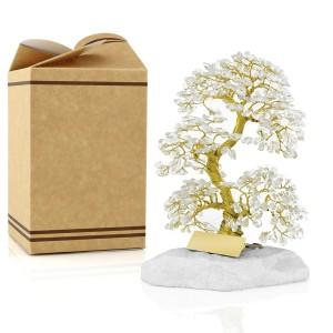 drzewko szczęścia z kryształami na prezent na szczęście