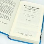 pamiątka chrztu świętego - pismo święte z grawerem