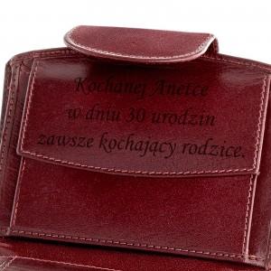 skórzany portfel damski