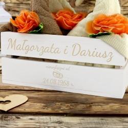 prezent na rocznicę ślubu dla rodziców ręczniki