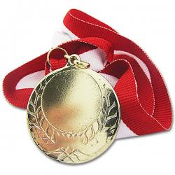 medal dla zwycięzcy z grawerem