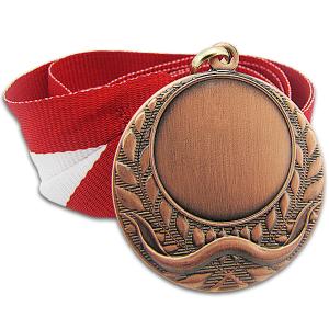 medal brązowy z dedykacją