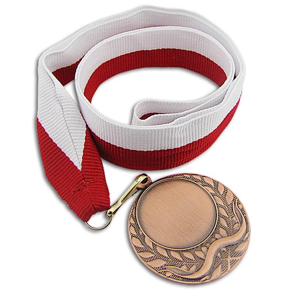 brązowy medal z grawerem