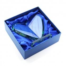 statuetka serce szklane
