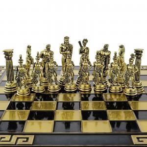 spersonalizowane szachy z mosiądzu