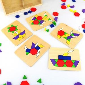 kolorowe układanki dla dzieci