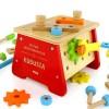 skrzynka na narzędzia z grawerem majsterkowicz na prezent dla dziecka