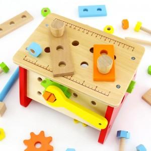 drewniane narzędzia na prezent dla dziecka