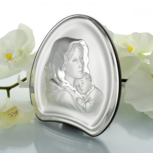 Obrazek Matka Boska (11x13cm) z opcją indywidualnego graweru