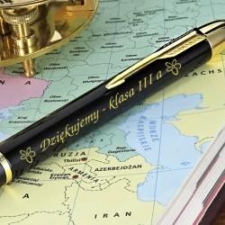 grawerowany długopis na prezent