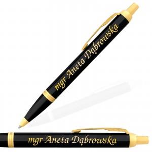 personalizowany długopis parker z grawerem na prezent dla nauczyciela